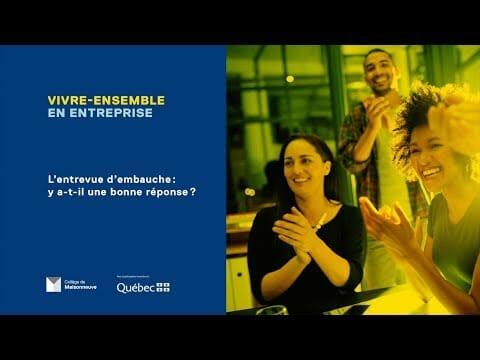 Collège de Maisonneuve – Vivre-ensemble en entreprise