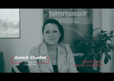 Femmessor Montérégie – Vidéo témoignage